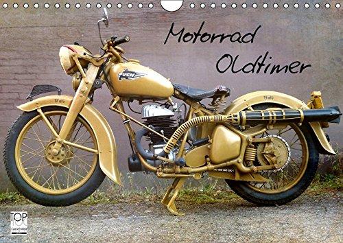 Motorrad Oldtimer (Wandkalender 2019 DIN A4 quer): Motorrad Oldtimer - Raritäten aus Deutschland und Österreich (Monatskalender, 14 Seiten ) (CALVENDO Mobilitaet)