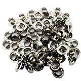 C.S. Osborne Nickel Grommets & Washers #N1-0 Size 0 (1/4' Hole) 144 Sets