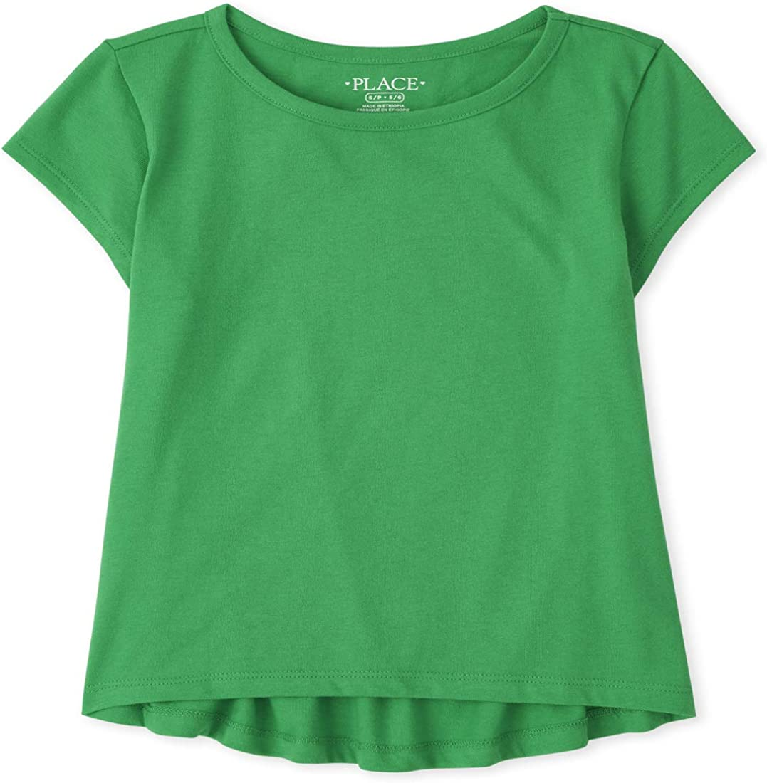 The Children's Place Girls' Short Sleeve Top