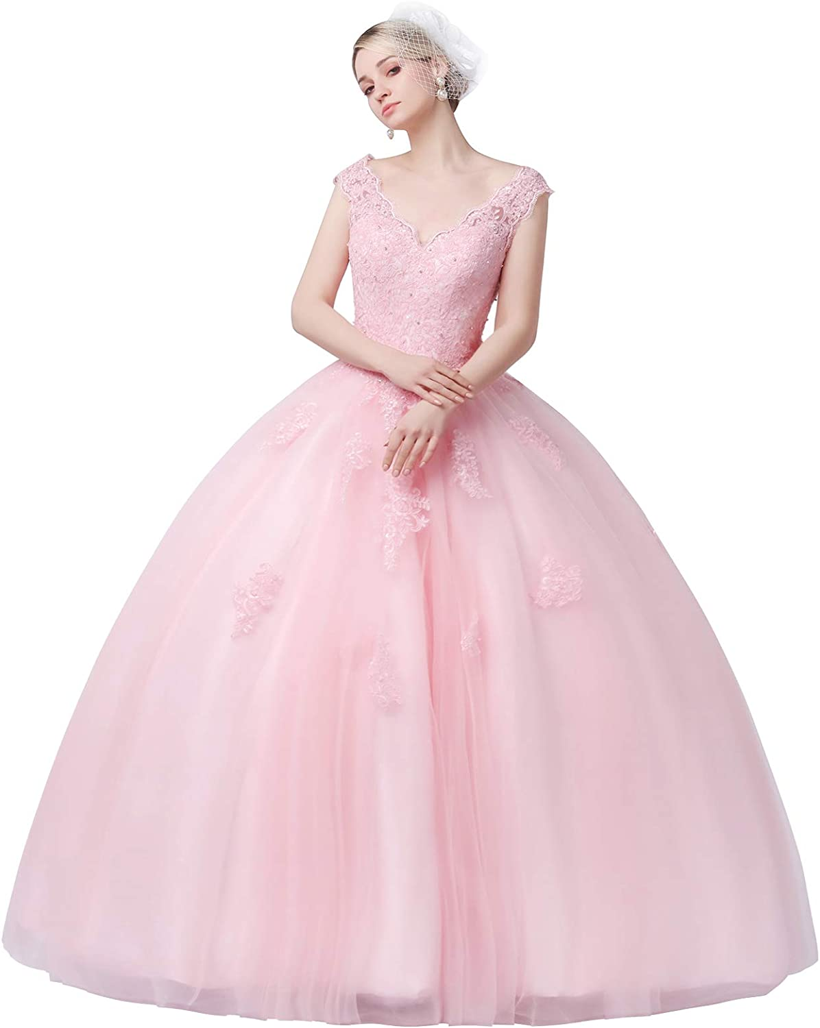 CharmingBridal Quinceanera Dresses Lace Prom Gown Finally popular brand 15 Clearance SALE Limited time Ball Sweet