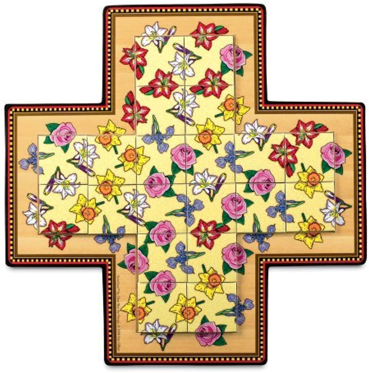 MindWare CrissCross  Flowers by MindWare