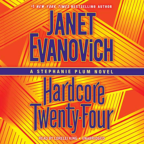 Hardcore Twenty-Four     A Stephanie Plum Novel              By:                                                                                                                                 Janet Evanovich                               Narrated by:                                                                                                                                 Lorelei King                      Length: 6 hrs and 8 mins     3,290 ratings     Overall 4.4