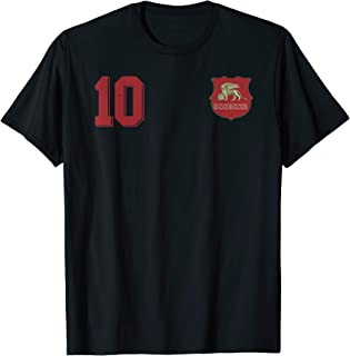 Venice or Venezia in Football Soccer Style T-Shirt