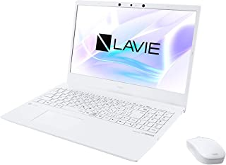 NEC LAVIE N15 N1575/BAW PC-N1575BAW [パールホワイト] (15.6インチ/Corei7/8GB/SSD512GB/Win10/Office付/BDドライブ有)ノートパソコン
