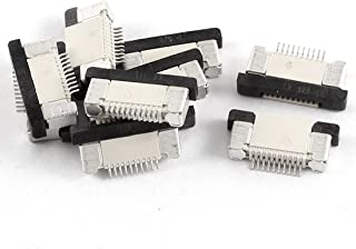 Aexit Bottom Port Audio & Video Accessories 10Pin 0.5mm Pitch FFC FPC Ribbon Sockets Connectors & Adapters Connector 10Pcs