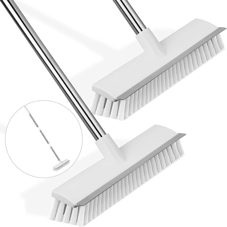 SIPIK 9 in 9 Long Handle Floor Scrub Brush, 49