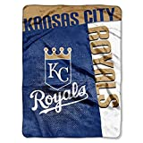 Northwest MLB Kansas City Royals Blanket, Team Color, 60' x 80'