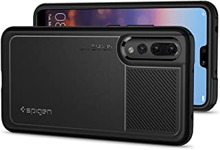 Spigen Funda Marked Armor [Negro] Huawei P20 Pro Funda con Tecnología Air Cushion para protección de cámara y antichoque Bien Resistente [Black] para Huawei P20 Pro (2018) - L23CS24400