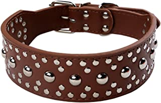 Best 3 inch wide leather dog collars Reviews