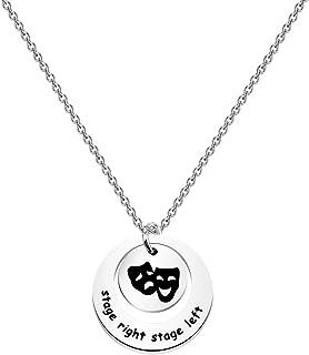 قلادة مسرح مجوهرات دراما إقتباس هدية لمحبي الموسيقى هدية لمحبي الموسيقى