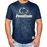 Elite Fan Shop Penn State Nittany Lions Retro Tshirt Navy - Medium