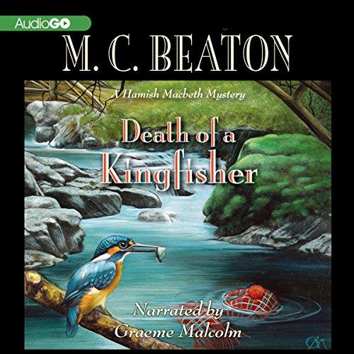 Bargain Audio Book - Death of a Kingfisher  A Hamish Macbeth M