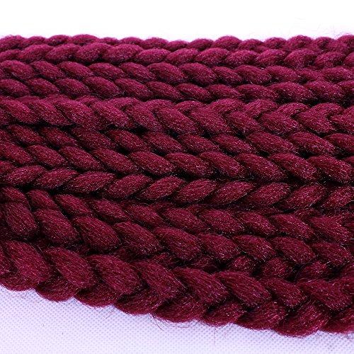 18 pouces Crochet Box Tresses Extension de cheveux (12Roots / Pièce) 3S Afro Crochet Box Tressage Cheveux pour les femmespunaise^^^18pouce