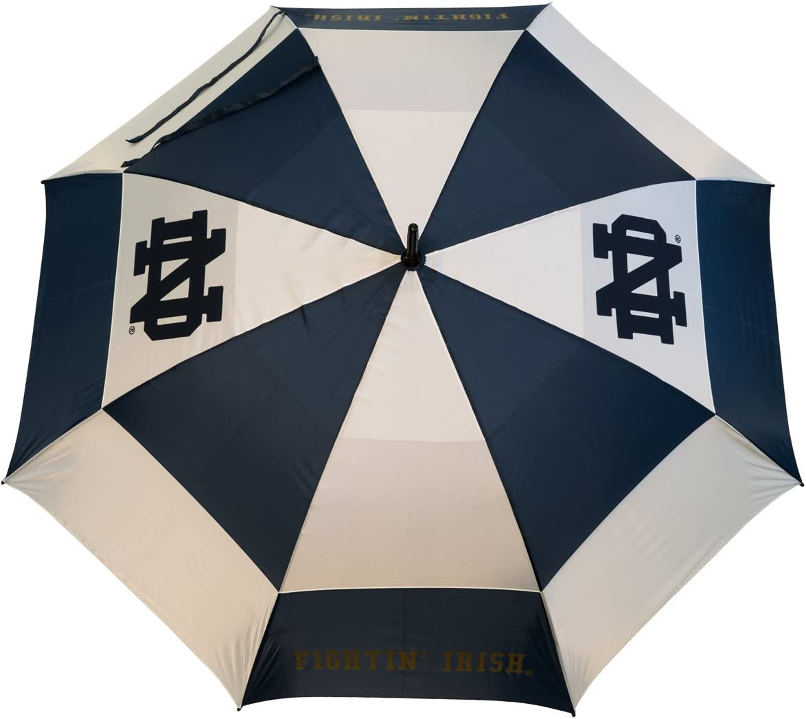 Team Golf NCAA Notre Dame Very popular Directly managed store Fighting Umbrella with Irish 62