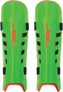 TK ASX 3.5 Junior Hockey Shin Guards - Lime/Orange (2017/18) - XX Small
