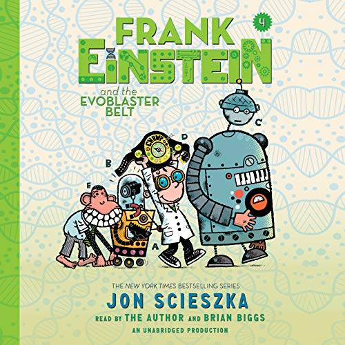 Frank Einstein and the EvoBlaster Belt cover art