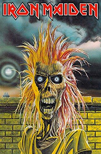 Rock Off Iron Maiden - Iron Maiden (Poster In Tessuto) Merchandising U