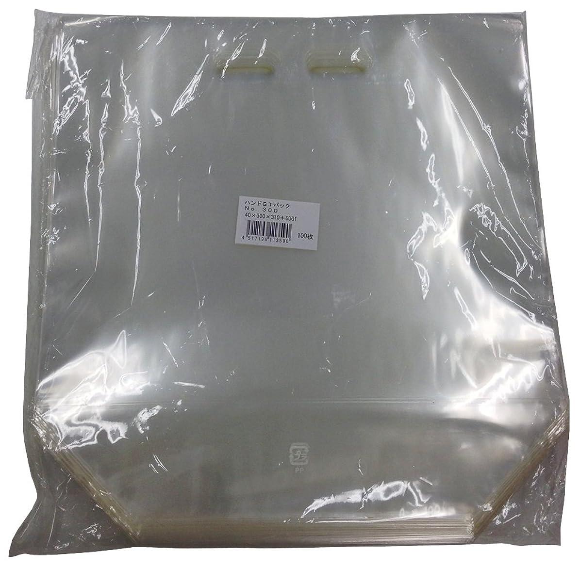 安価なマーチャンダイジング夏ハンドGTパック袋 規格 プラマーク入 No.300 [100枚入][300×310+60GT][小袋] [牧包装製]