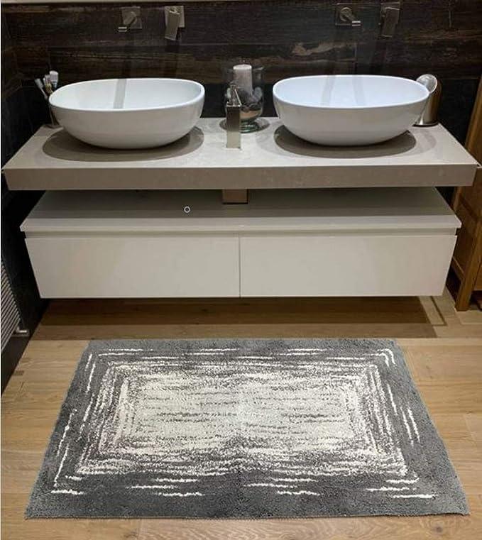 60x100 80x150 80x200  Bathmat Da Bagno Anti Scivolo Tappetino Tappeto Rug Mat 48