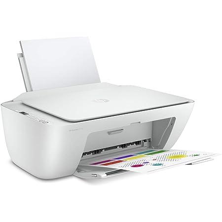 HP DeskJet 2710 (5AR83B) Imprimante multifonction à jet d'encre, impression, numérisation, photocopie, Wi-Fi, A4, HP Smart, blanc