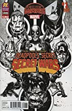 Deadpool's Secret Secret Wars #1 C2E2 PX Inked Variant