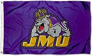 James Madison Dukes JMU University Large College Flag