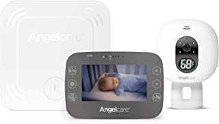 Angelcare AC337 Baby Movement Monitor with Video White
