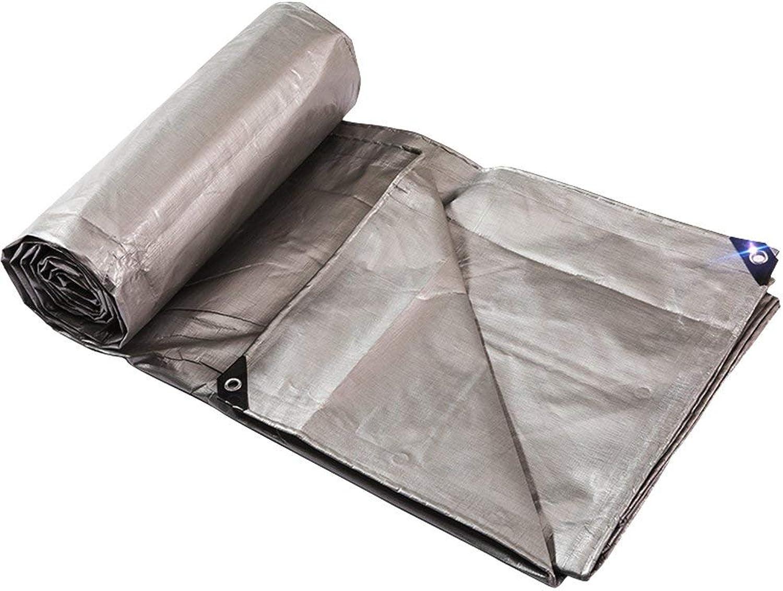 Waterproof Cloth Cloth Cloth Home Regenfestes Tuch, Wasserdichte Plane, Wasserdichte Poncho-Isomatte Cargo-Sonnencreme-Isolierung, verschleißfestes Antioxidans (Farbe   grau, Größe   3x6M) B07NDBJDRL  Angemessene Lieferung und pünktliche Lieferung d43641