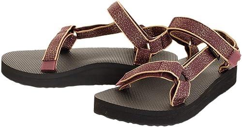 Teva Femmes Noir Midform Universal Sandales Sandales  magasins d'usine