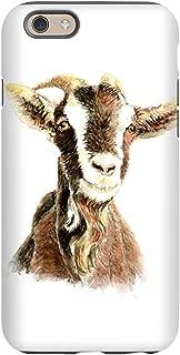 CafePress - Watercolor Goat Farm Animal - iPhone 6/6s Phone Case, Tough Phone Shell