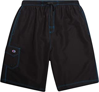 Champion Men's Big and Tall Classic Swim Trunks with Mesh...