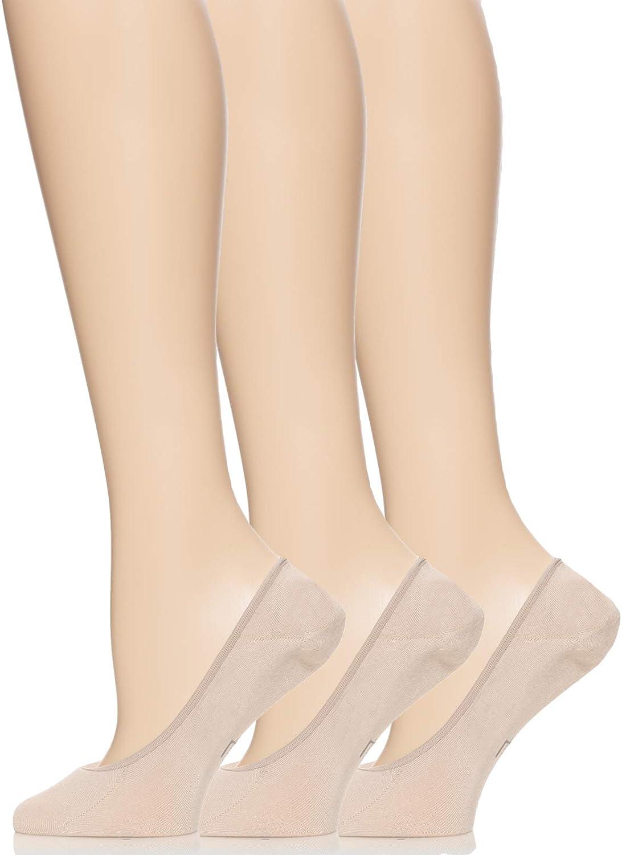Felina | Women's Invisible Bamboo Liner Socks | 3-Pack