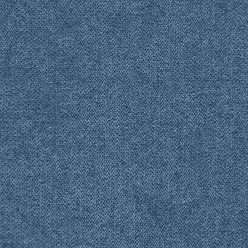 Deshome Roma 5 metri - Tessuto al Metro Idrorepellente h 140 cm per divani, cuscini, complementi d'arredo (Blu capri)