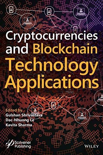 Cryptocurrencies and Blockchain Technology Applications Front Cover
