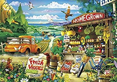 Buffalo Games - Days to Remember - Country Road - 500 Piece Jigsaw Puzzle by Buffalo Games, LLC