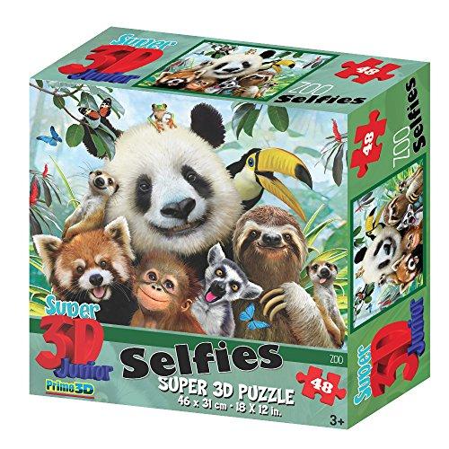 Howard Robinson Selfies Super 3D Puzzles Zoo
