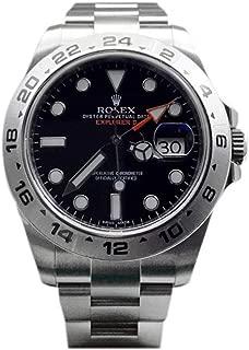 Explorer II Black Dial Stainless Steel Men's Watch 216570