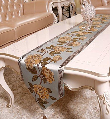 Sucastle® 31x210cm tissu Chemin de Table Cuisine Imperméable Décoration en Aspect naturel