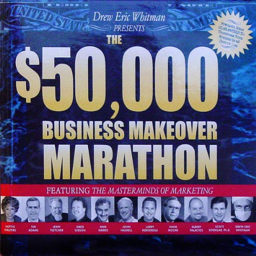 The $50,000 Business Makeover Marathon audiobook cover art