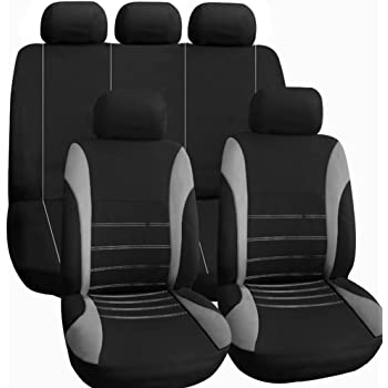 2X CAR SEAT COVERS for front seats fit Vauxhall Insignia 3 VEST SHAPE