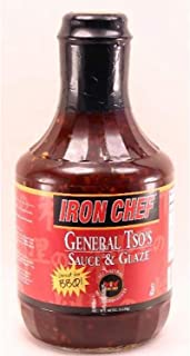 Iron Chef General Tso's Sauce and Glaze, 40 oz.Bottle