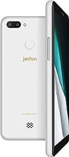 MAYA SYSTEM jetfon P6 ホワイト 5.7型 メモリ/2GB/16GB nanoSIMx2 /ドコモ・ソフトバンク対応 クラウドSIMスマートフォン ELTP18A04-WH ELTP18A04-WH