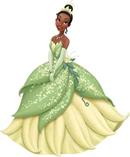 10 Inch Glitter Sparkle Tiana Decal Princess and The Frog Decal Disney Princesses Removable Wall Sticker Art Walt Home Decor 9 by 10 inch