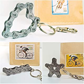 Re:Format-Handmade Schlüsselanhänger Fahrrad I Handgefertigte Geschenkidee für Radsportler I Geschenk für Radfahrer