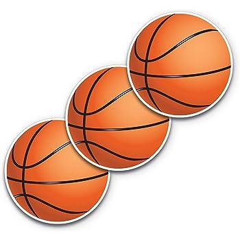 Women Basketball Player Inside Ball Car Bumper Sticker Decal 5/'/' x 5/'/'