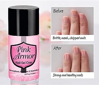 Ugood 1 PCS Pink Pink Armour Nail Nutrition Gel Polish Remedy Fix Protective Layer Keratin Gel
