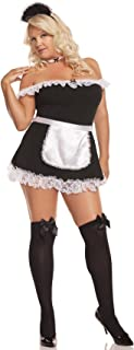 Elegant Moments Women's Plus-Size Sexy Maid