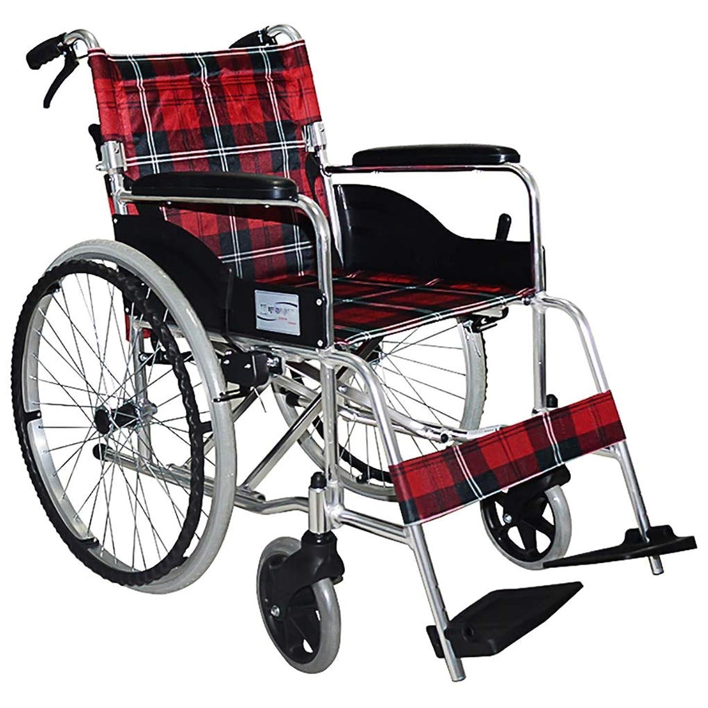 スペクトラム農学ダニJJJJD 車椅子自走式車椅子携帯用ウェイタープッシュ取り外し可能なアルミ合金軽量折りたたみ輸送用トラベルエイド