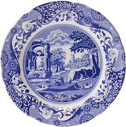 Service de Vaisselle 12 Pièces Spode Bleu Italien - 2