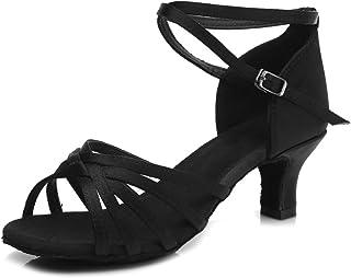 30b79a0b SWDZM Mujer Zapatos de Baile/Estándar de Zapatos de Baile Latino Satén  Ballroom modelo-
